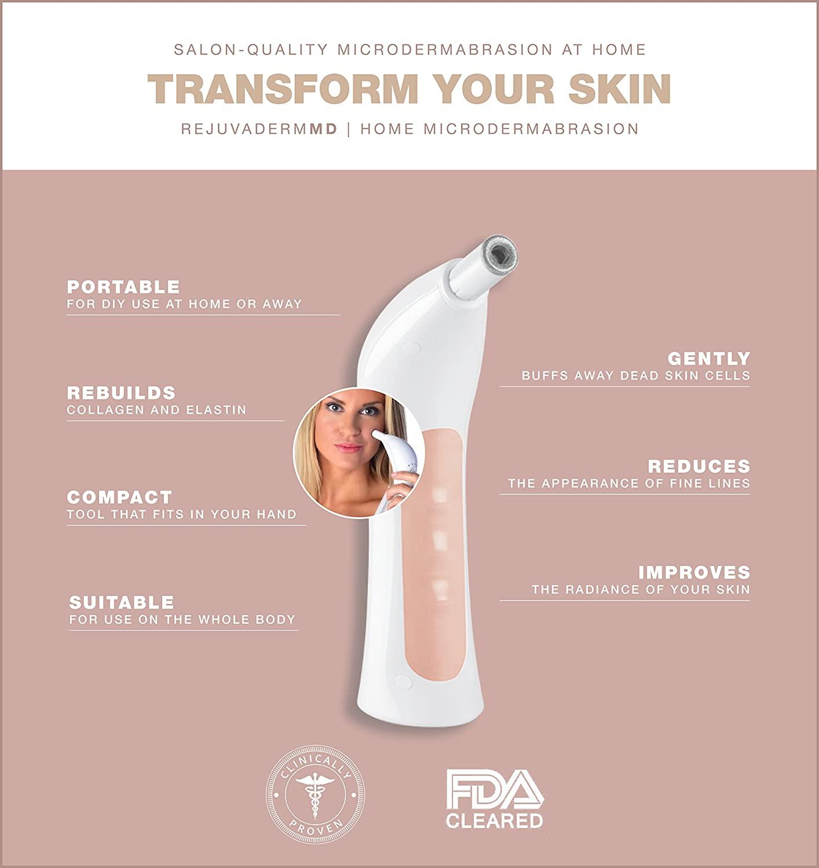 trophy skin rejuvadermmd microdermabrasion machine